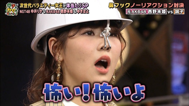 【西野未姫放送事故画像】元AKB48アイドルでありながらバラエティに身体張りすぎな女w 12