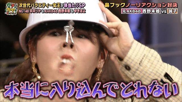 【西野未姫放送事故画像】元AKB48アイドルでありながらバラエティに身体張りすぎな女w 22