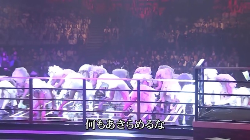 【AKBパンチラ画像】集団で生足やパンチラを見せながら踊るスケベなアイドル集団! 35