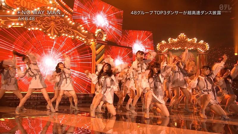 【AKBパンチラ画像】集団で生足やパンチラを見せながら踊るスケベなアイドル集団! 48