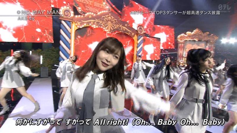 【AKBパンチラ画像】集団で生足やパンチラを見せながら踊るスケベなアイドル集団! 56
