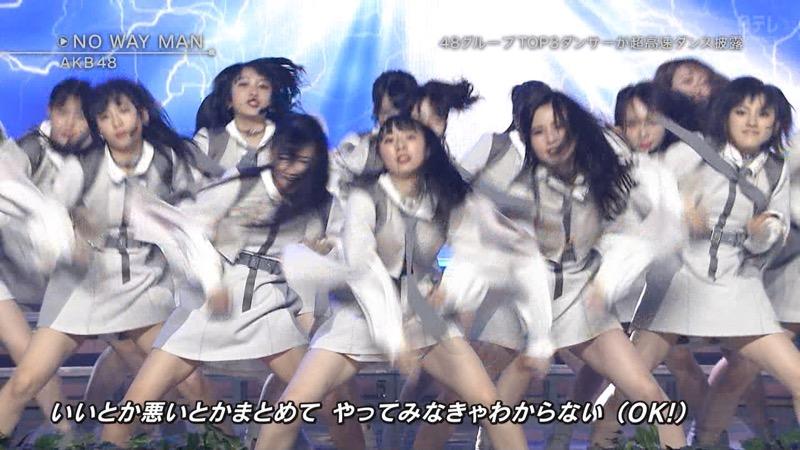 【AKBパンチラ画像】集団で生足やパンチラを見せながら踊るスケベなアイドル集団! 65