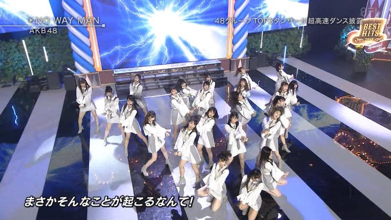 【AKBパンチラ画像】集団で生足やパンチラを見せながら踊るスケベなアイドル集団! 72