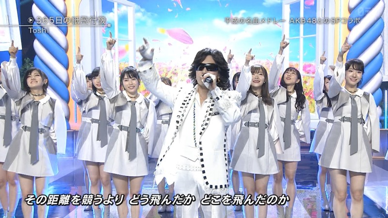 【AKBパンチラ画像】集団で生足やパンチラを見せながら踊るスケベなアイドル集団! 78