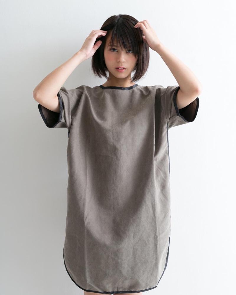 【吉崎綾エロ画像】ショートヘアが似合って可愛いクォーター美女の水着グラビア! 19