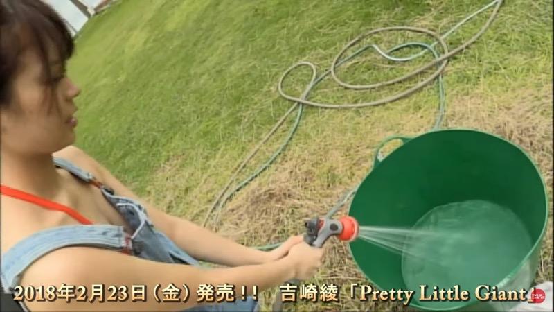 【吉崎綾キャプ画像】クォーター美人モデルが魅せるグラドルにも負けないセクシームービー 26