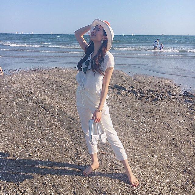【農海姫夏エロ画像】へそ出しレースクイーン衣装がエロい現役女子大生グラビアアイドル! 24