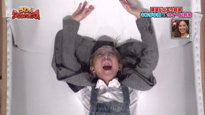 【鈴木奈々キャプ画像】ファッションモデルの体当たり過ぎるバラエティ出演シーンの数々! 42