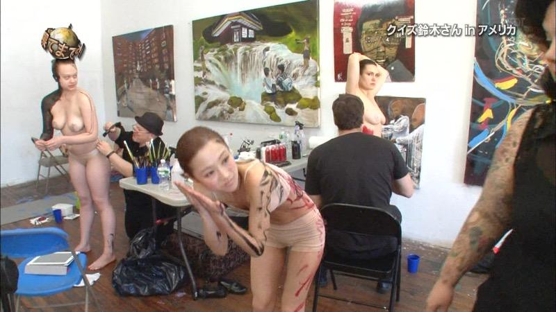 【鈴木奈々キャプ画像】ファッションモデルの体当たり過ぎるバラエティ出演シーンの数々! 45