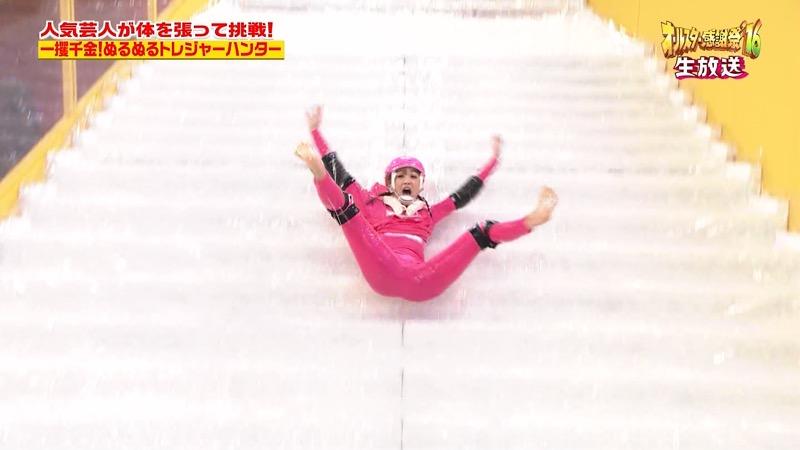 【鈴木奈々キャプ画像】ファッションモデルの体当たり過ぎるバラエティ出演シーンの数々! 51