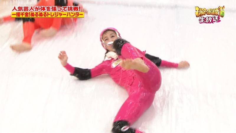 【鈴木奈々キャプ画像】ファッションモデルの体当たり過ぎるバラエティ出演シーンの数々! 53