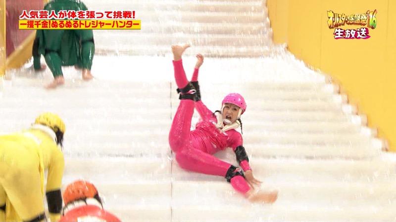 【鈴木奈々キャプ画像】ファッションモデルの体当たり過ぎるバラエティ出演シーンの数々! 55