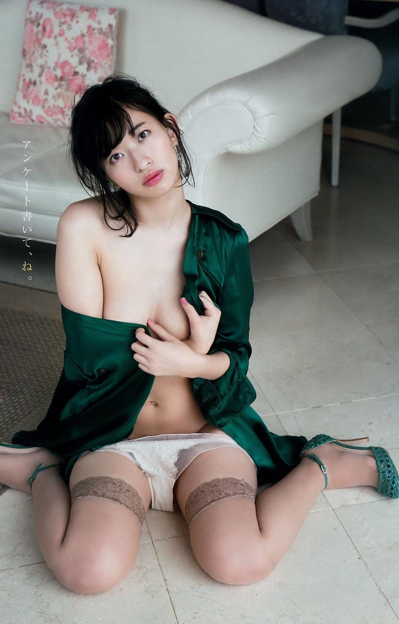 【倉持由香グラビア画像】大きくて綺麗でエロい100cmヒップが自慢のグラビアアイドル! 19