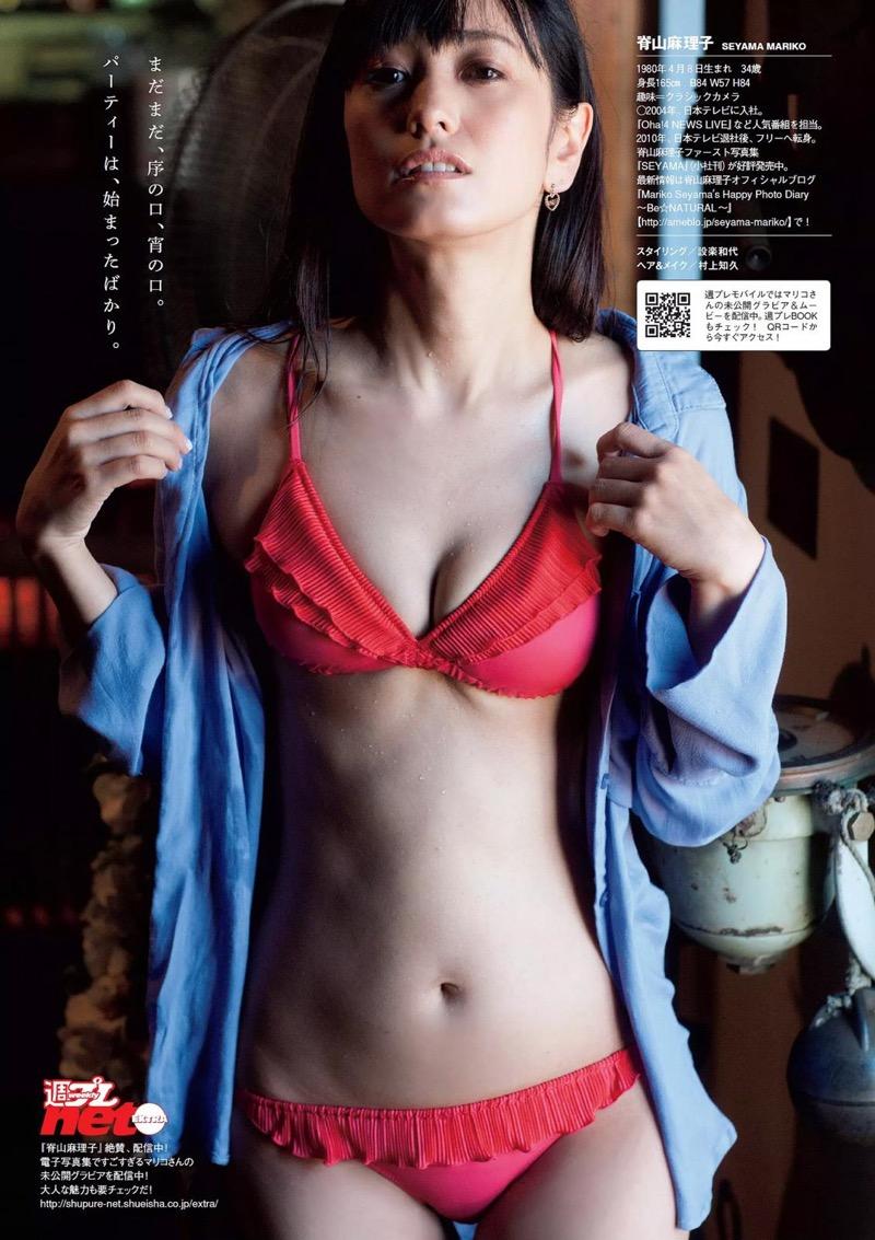 【脊山麻理子エロ画像】元日テレ女子アナで現在フリーの美人がグラビアでも水着で大活躍! 77