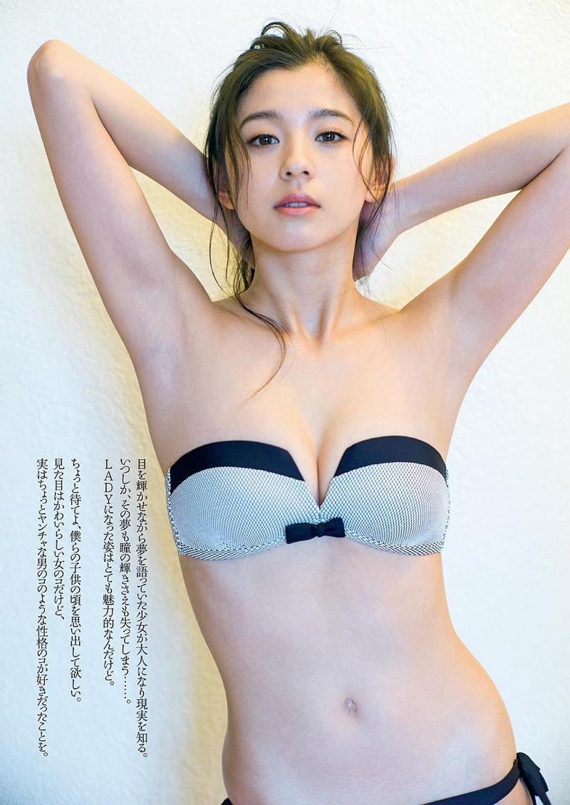 【朝比奈彩エロ画像】高身長ボディでビキニ姿が綺麗に映えるファッションモデルのグラビア! 18