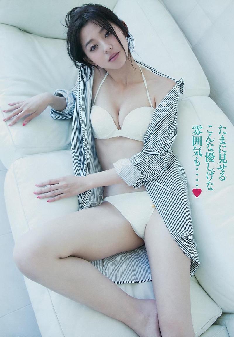 【朝比奈彩エロ画像】高身長ボディでビキニ姿が綺麗に映えるファッションモデルのグラビア! 34