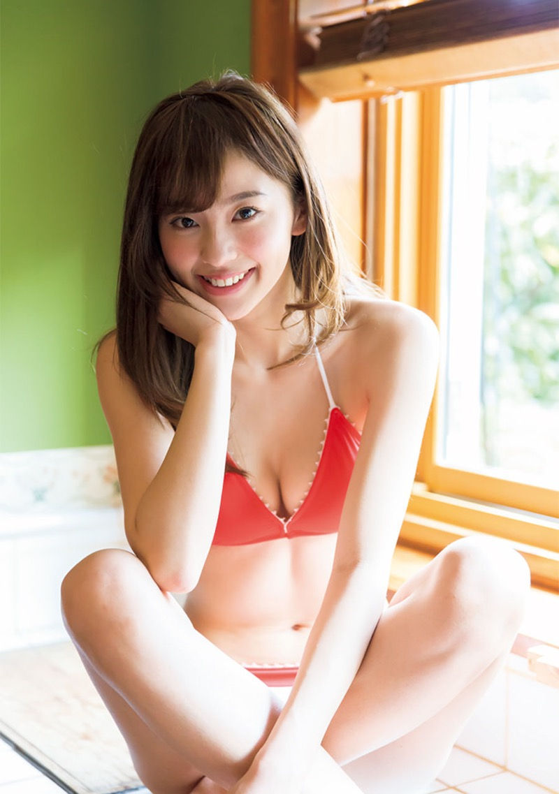 【朝比奈彩エロ画像】高身長ボディでビキニ姿が綺麗に映えるファッションモデルのグラビア! 45
