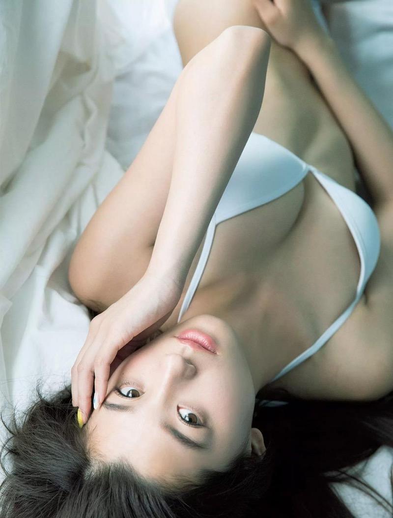 【朝比奈彩エロ画像】高身長ボディでビキニ姿が綺麗に映えるファッションモデルのグラビア! 62