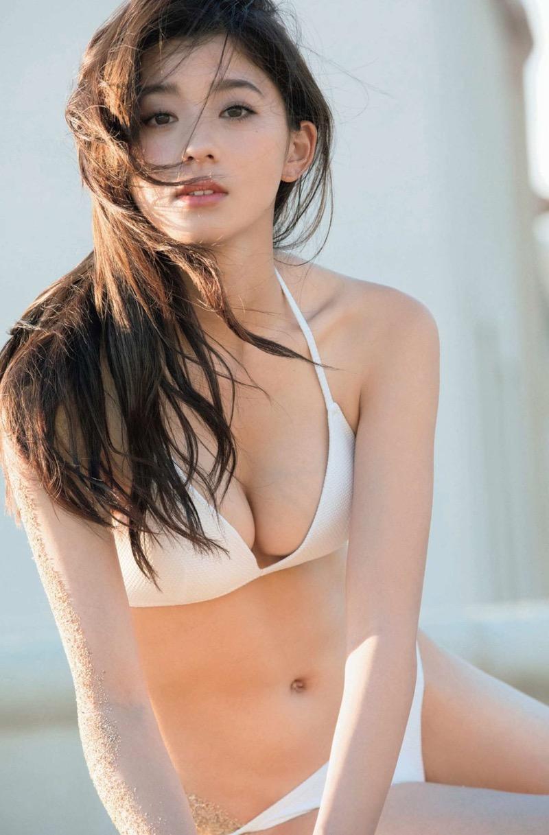 【朝比奈彩エロ画像】高身長ボディでビキニ姿が綺麗に映えるファッションモデルのグラビア! 67