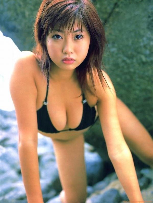 【吉田亜咲グラビア画像】現役女子高生としてデビューした長身エロボディのグラビアアイドル 21