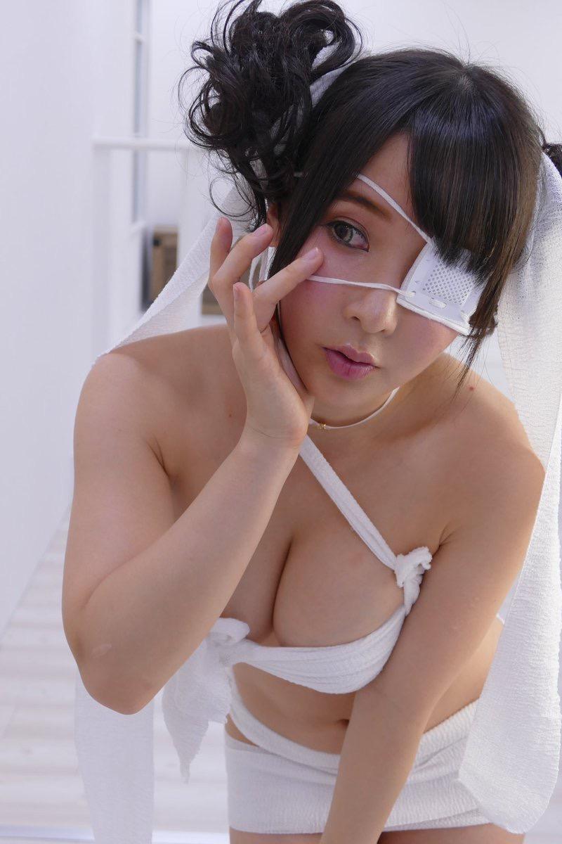 【雨宮留菜エロ画像】チンコにクリーンヒットするむっちりIカップ爆乳ボディのコスプレ娘 36