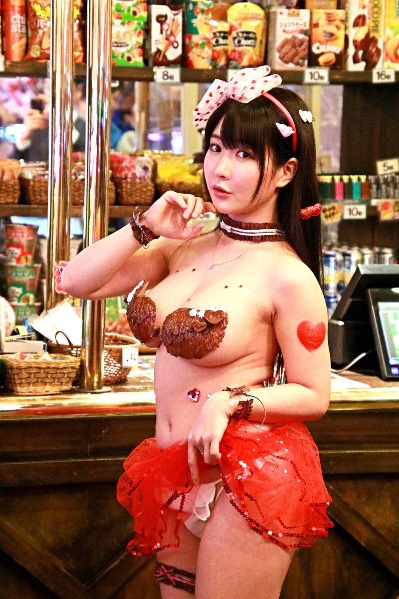 【雨宮留菜エロ画像】チンコにクリーンヒットするむっちりIカップ爆乳ボディのコスプレ娘 44