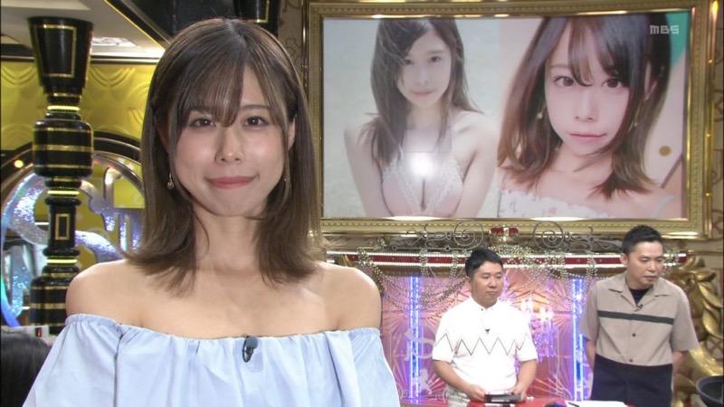 【有村藍里キャプ画像】妹の人気に乗って芸能界でブレイクしちゃったDカップグラビアアイドル 15
