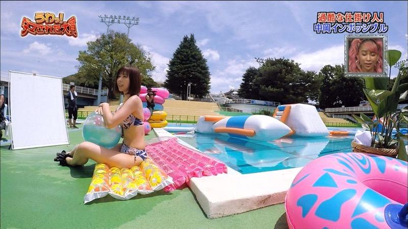 【有村藍里キャプ画像】妹の人気に乗って芸能界でブレイクしちゃったDカップグラビアアイドル 47