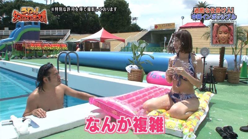 【有村藍里キャプ画像】妹の人気に乗って芸能界でブレイクしちゃったDカップグラビアアイドル 56