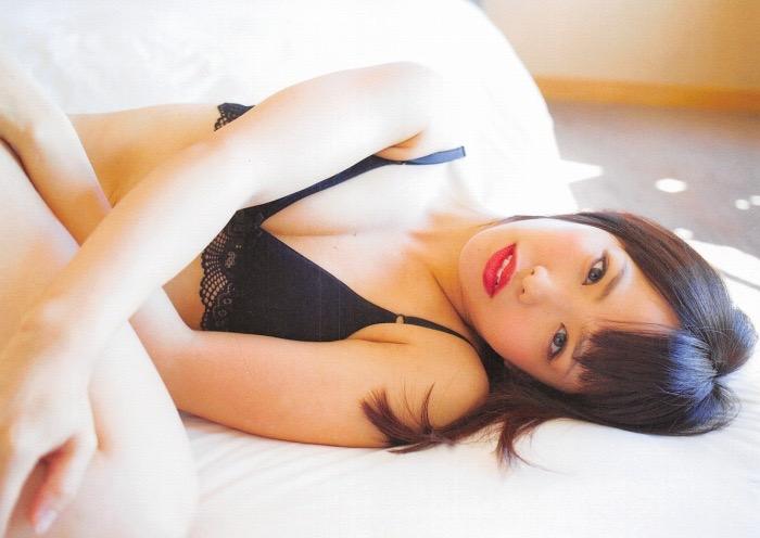 【松村香織エロ画像】令和に変わると共に新たな旅立ちをした元SKE48アイドルのセミヌード