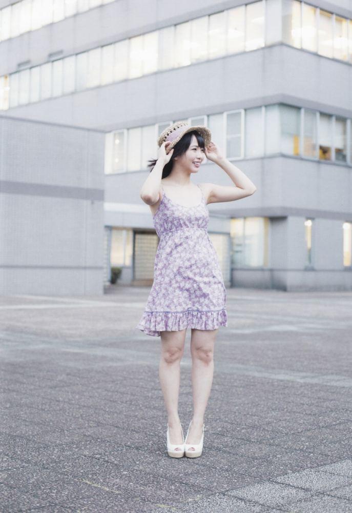 【松村香織エロ画像】令和に変わると共に新たな旅立ちをした元SKE48アイドルのセミヌード 03
