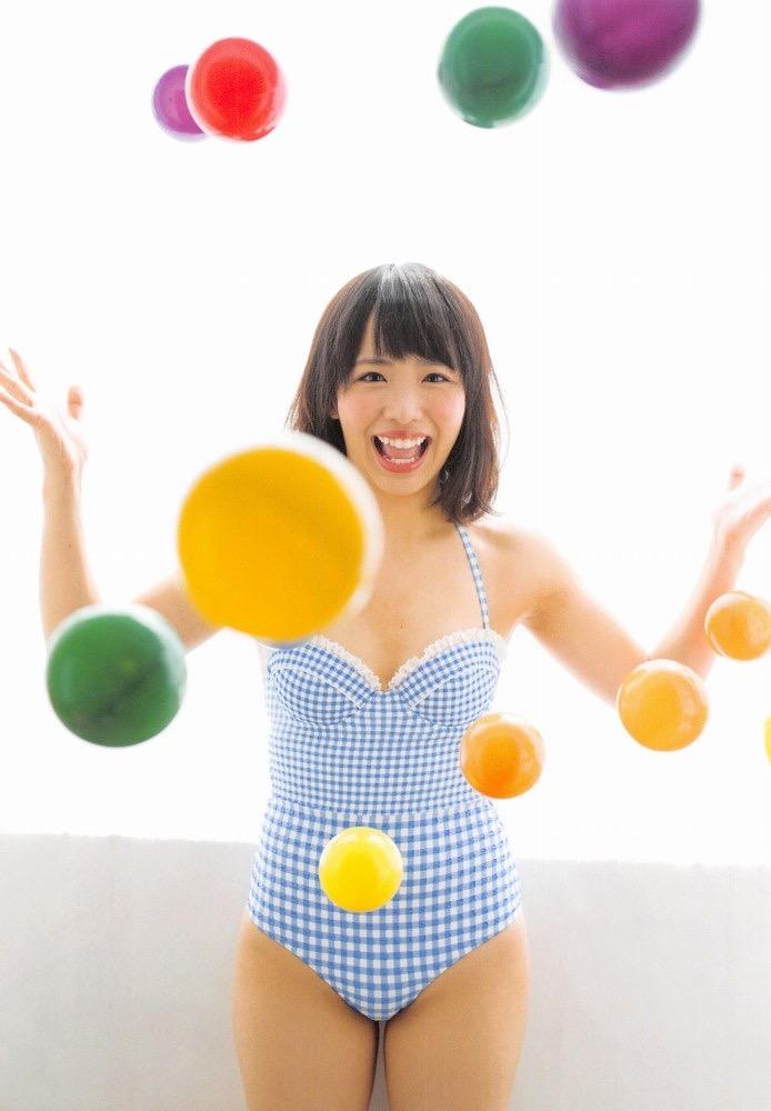 【松村香織エロ画像】令和に変わると共に新たな旅立ちをした元SKE48アイドルのセミヌード 46