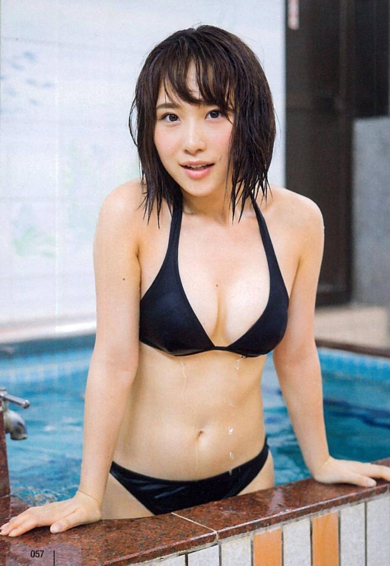 【高橋朱里エロ画像】日本のアイドルから韓国のアイドルへと転身したアイドルのグラビア 45