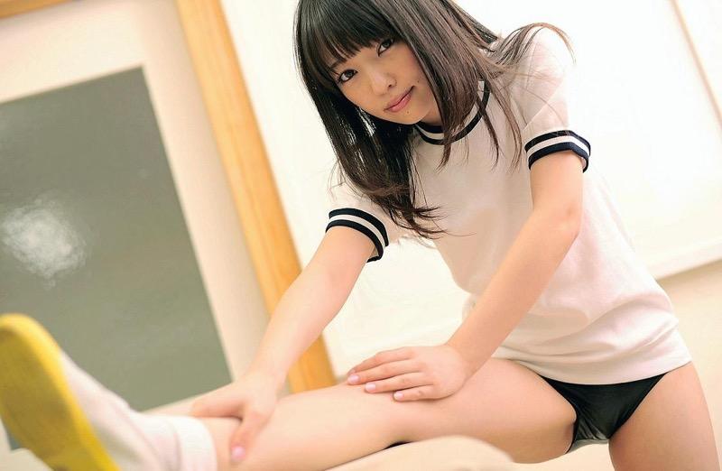 【安藤遥グラビア画像】女子高生レースクイーンとしてデビューしたスレンダーボディのエロ娘! 06