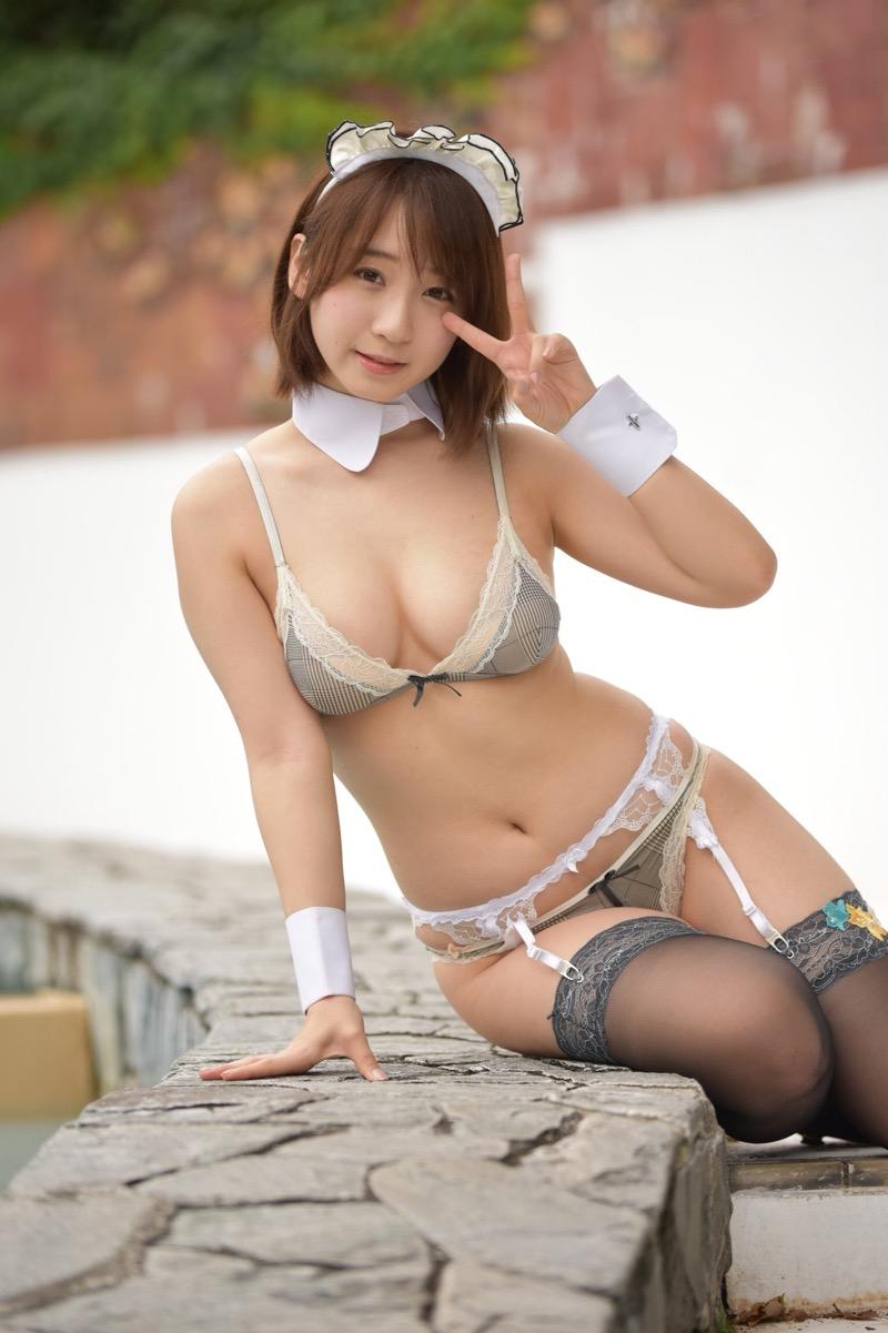 【伊織もえエロ画像】アニメやゲームキャラクターに扮した姿が可愛くてエロい美人コスプレイヤー 54