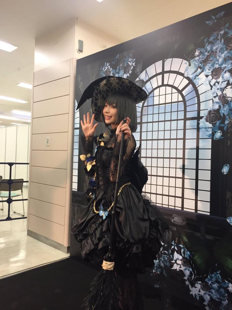 【宇垣美里コスプレ画像】元TBS女子アナウンサーの魔女コスプレとメイクが美し過ぎる! 20