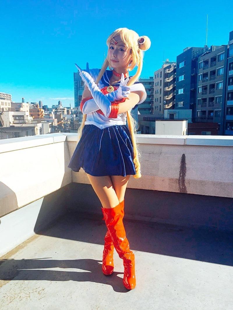 【宇垣美里コスプレ画像】元TBS女子アナウンサーの魔女コスプレとメイクが美し過ぎる! 32