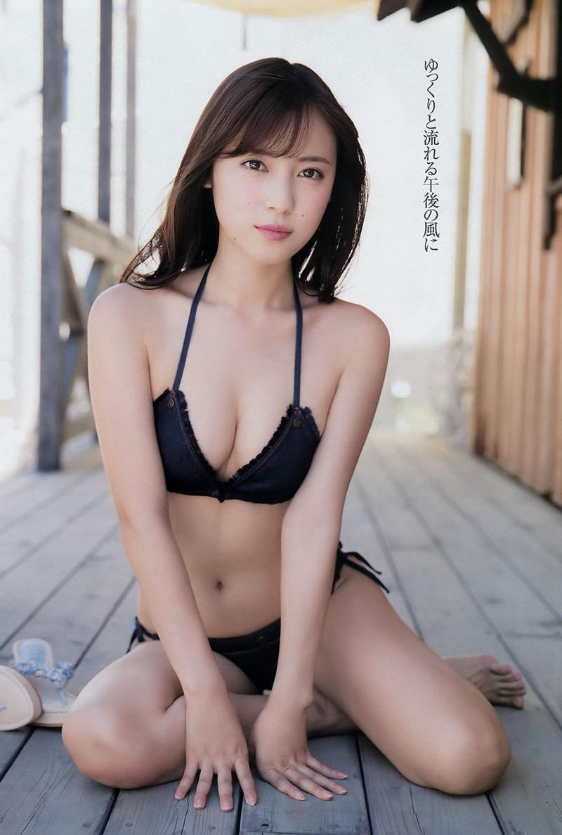 【池上紗理依グラビア画像】様々なデザインのビキニや下着を着こなすエロ可愛い美少女グラドル 56
