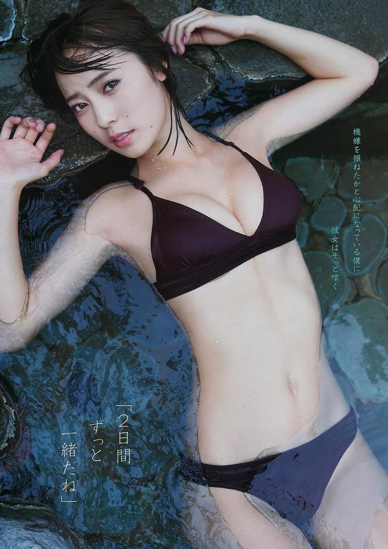 【池上紗理依グラビア画像】様々なデザインのビキニや下着を着こなすエロ可愛い美少女グラドル 71