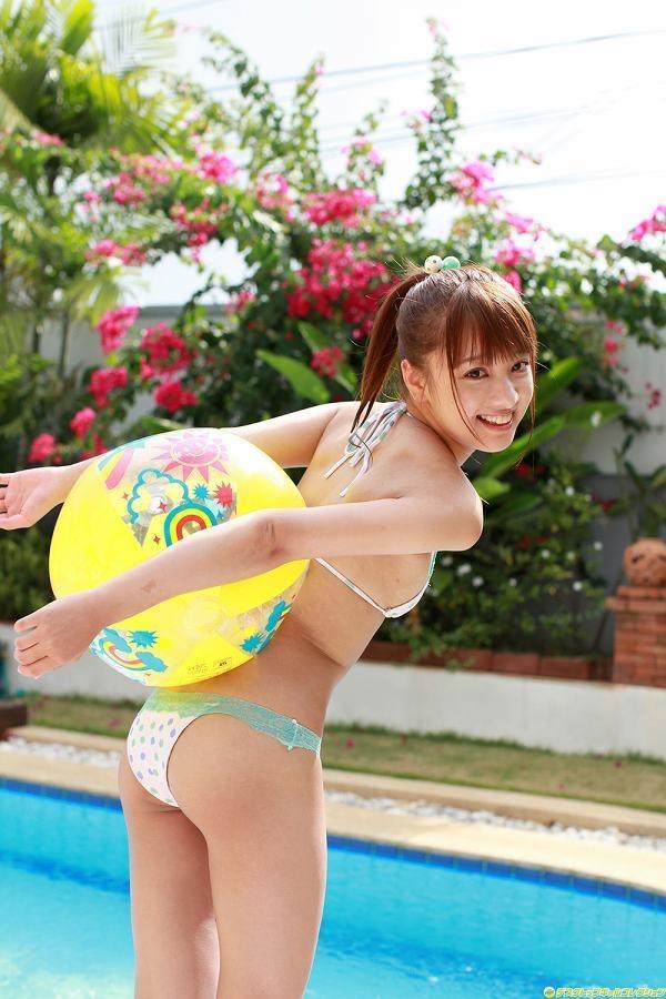 【池田ショコラグラビア画像】名前と身体がとっても美味しそうなスレンダー美少女のエロ画像 47