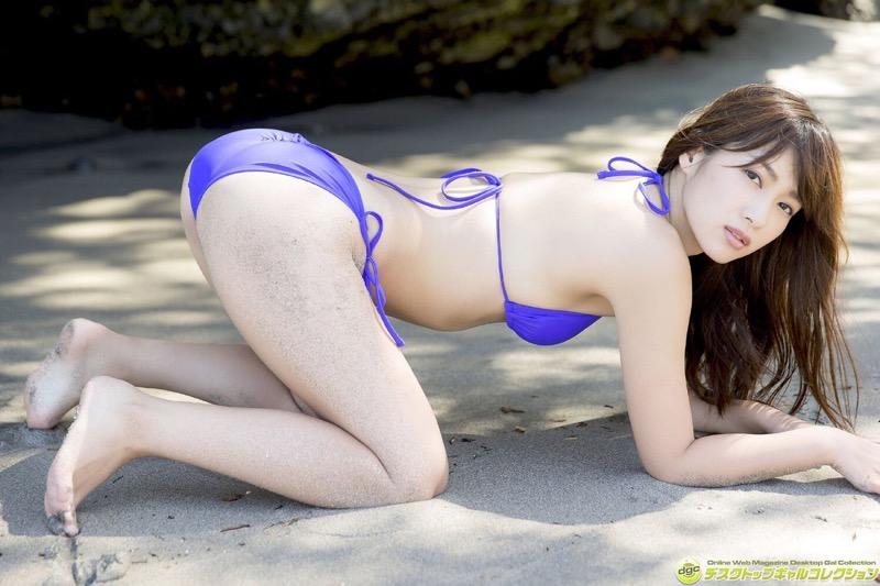 【石岡真衣エロ画像】グラビアアイドルに憧れてデビューしたFカップ巨乳娘のギリギリヌード!