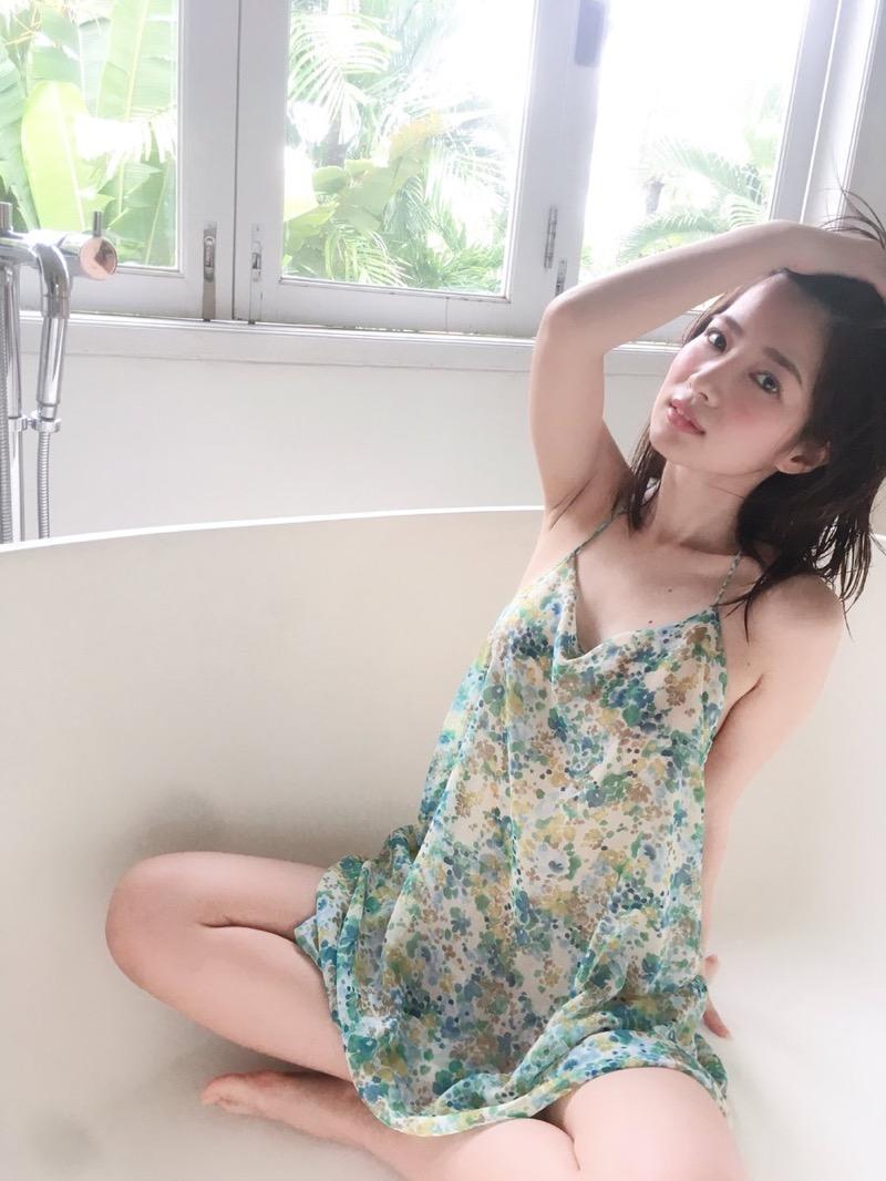 【石岡真衣エロ画像】グラビアアイドルに憧れてデビューしたFカップ巨乳娘のギリギリヌード! 43