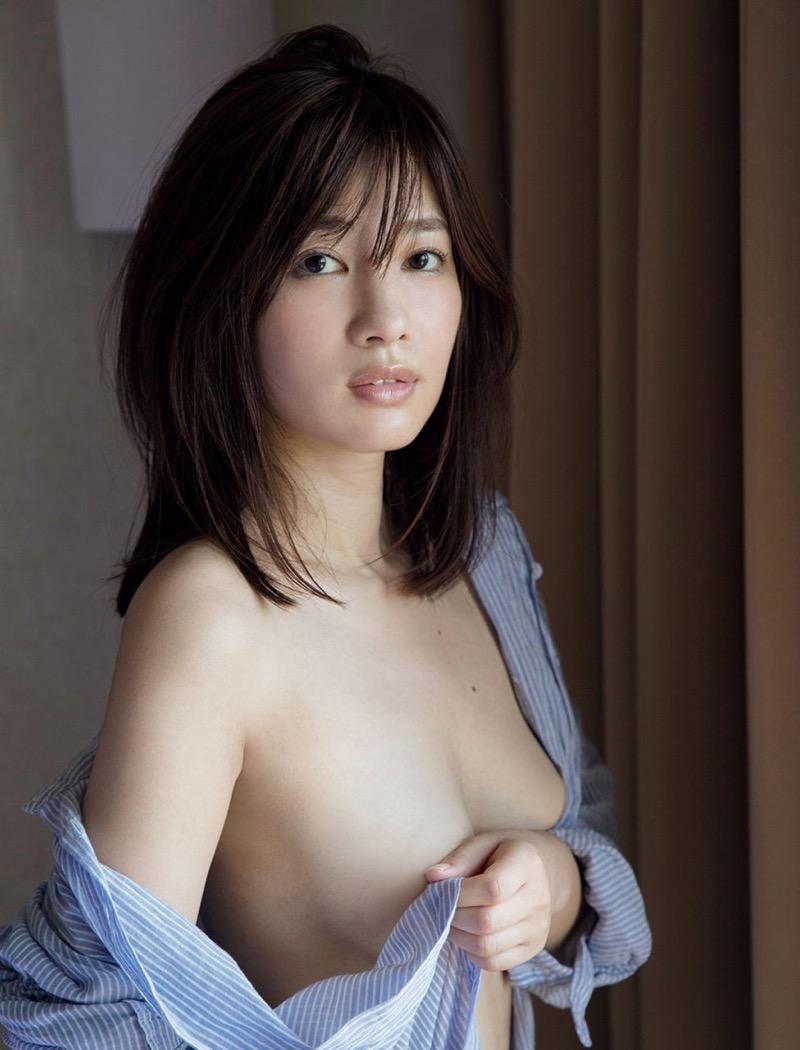 【石岡真衣エロ画像】グラビアアイドルに憧れてデビューしたFカップ巨乳娘のギリギリヌード! 63