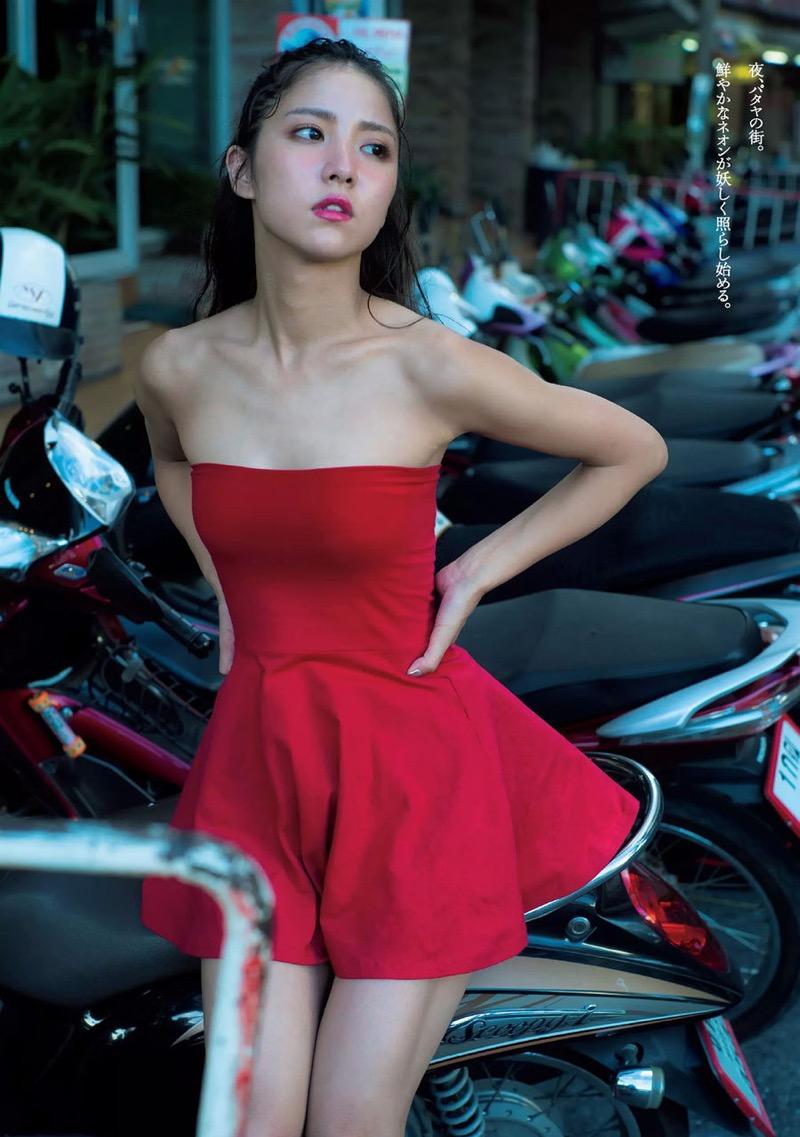 【石川恋グラビア画像】ファッションモデルとは思えない高露出写真を披露するセクシー美女 55