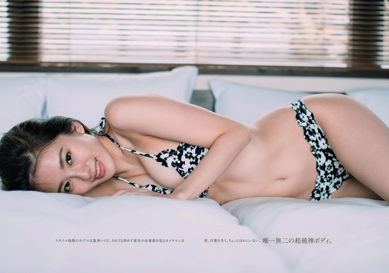 【伊東紗冶子グラビア画像】西川貴教との熱愛報道が原因で実家に連れ戻されたグラビアアイドル 08