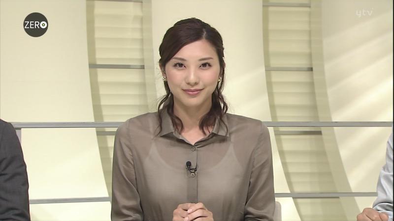【女子アナキャプ画像】放映中に図らずもエッチな姿を晒してしまった女子アナ事故画像 46