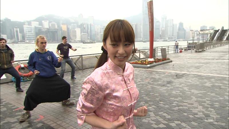 【女子アナキャプ画像】放映中に図らずもエッチな姿を晒してしまった女子アナ事故画像 67