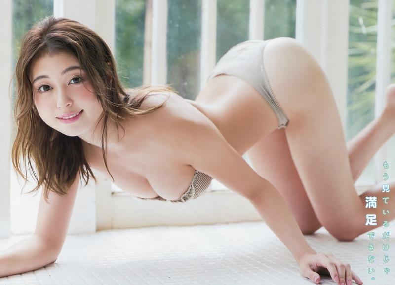 【大川藍グラビア画像】こんなに可愛くてエッチな身体の元アイドルが引退なんて勿体無いですねぇ
