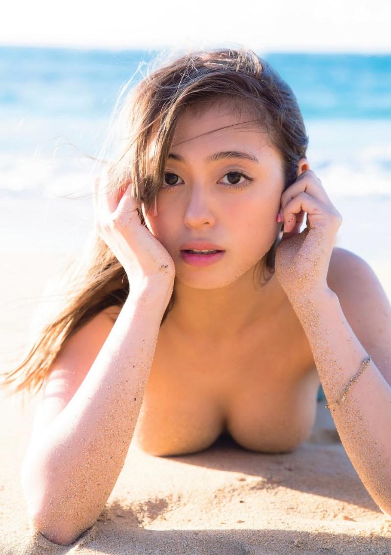 【大川藍グラビア画像】こんなに可愛くてエッチな身体の元アイドルが引退なんて勿体無いですねぇ 10