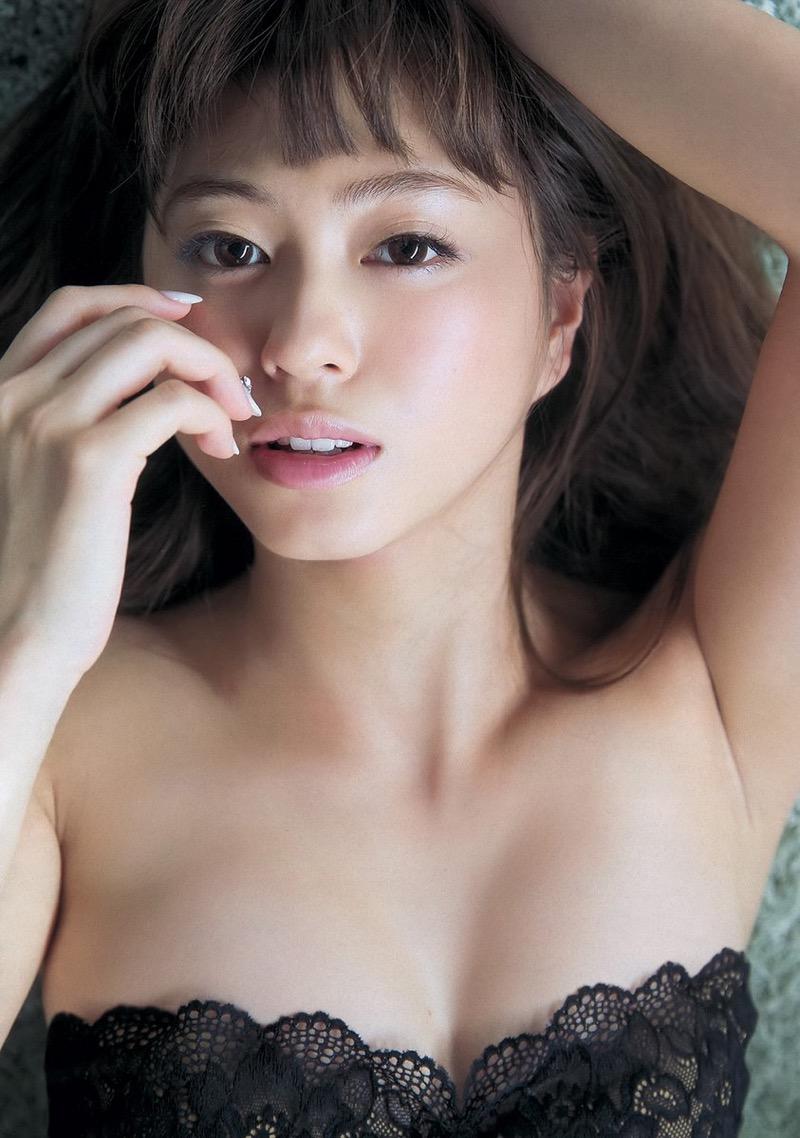 【大川藍グラビア画像】こんなに可愛くてエッチな身体の元アイドルが引退なんて勿体無いですねぇ 14